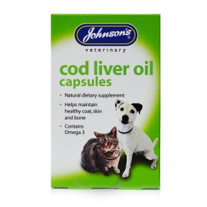 Johnson's Cod Liver Oil Capsules