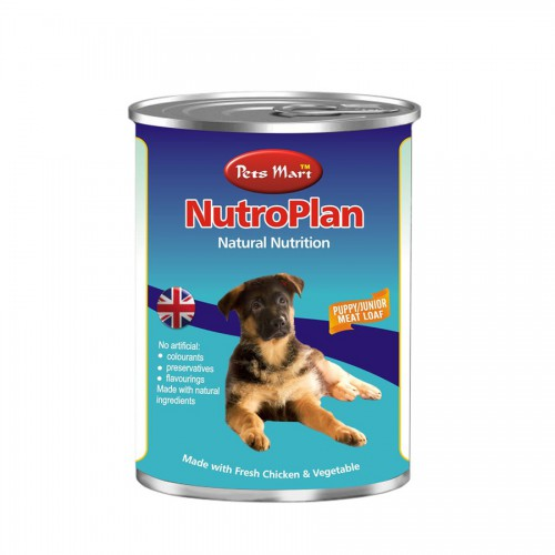 NutroPlan Puppy-Junior Meat Loaf (Chicken & Vegetable)