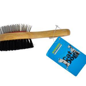Rosewood Combo Brush