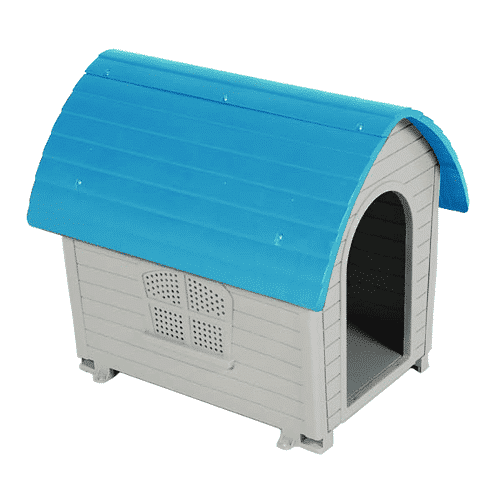 Plastic Cottage Dog House