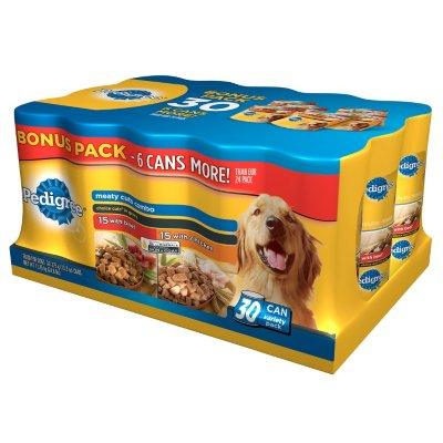 Pedigree Choice Cuts Dog Food, Bonus Pack
