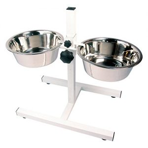 RoseWood Stainless Steel Adjustable Double Diner