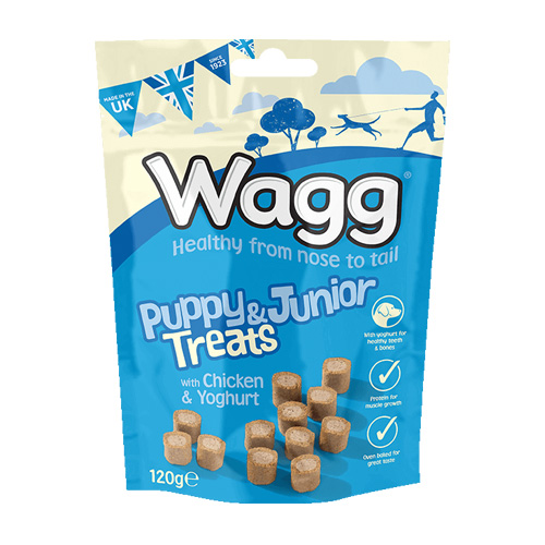 Wagg Puppy and Junior Treats