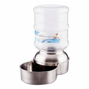 Petmate Stainless Steel Replendish Waterer