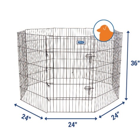 Petmate Single Door Exercise Pen_2