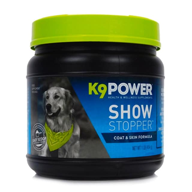 K9 Power Show Stopper – Healthy Dog Coat and Skin Formula to