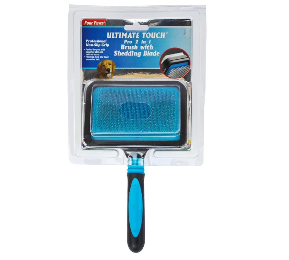 Four Paws Ultimate Touch® Pro-2-in-1-Brush