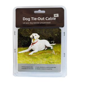 Rosewood Dog Tie-Out Cable 10ft