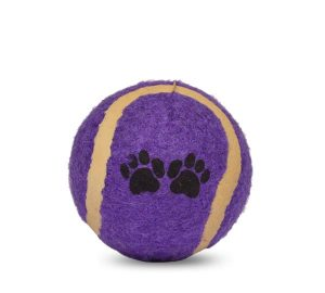 Purple Tennis Ball
