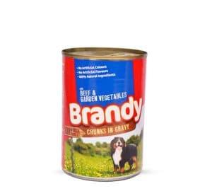 Brandy Chunks in Gravy (Beef & Garden Vegetables)