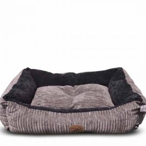 Catry Dog Bed -Grey & Blue