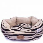 Catry Dog Bed (Black and Butter)