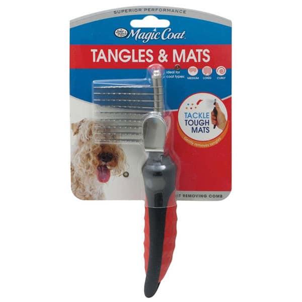 Four Paws Magic Coat Mat Removing Comb