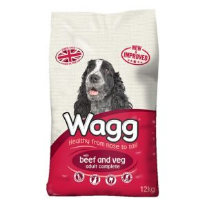 Wagg Complete Dog Food with Beef and Veg