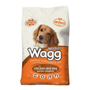 Wagg Worker Dog Food with Chicken and Veg