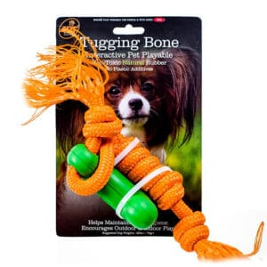 4BF Tugging Bone Green