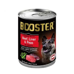 Booster Beef Liver and Peas