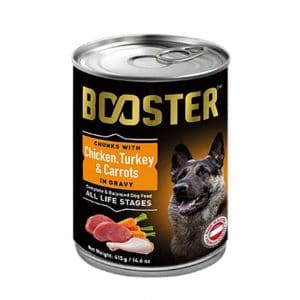 Booster Chicken Turkey and Carrots