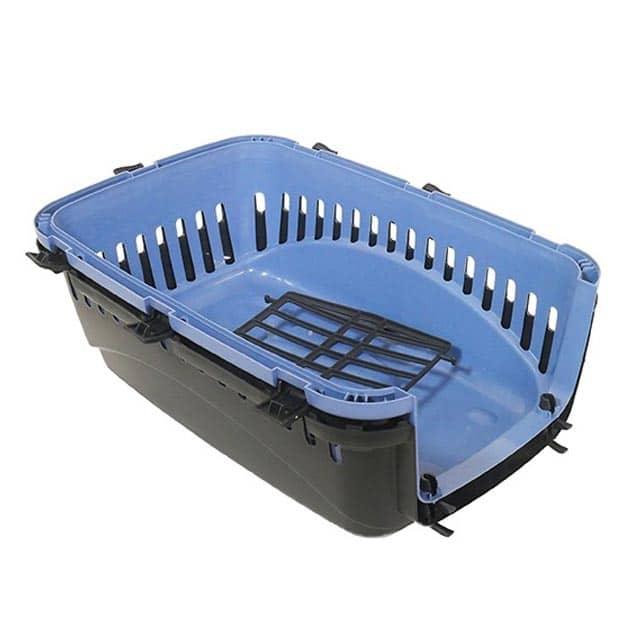 Eco Line Pet Carrier Small Slate Blue-Black_4