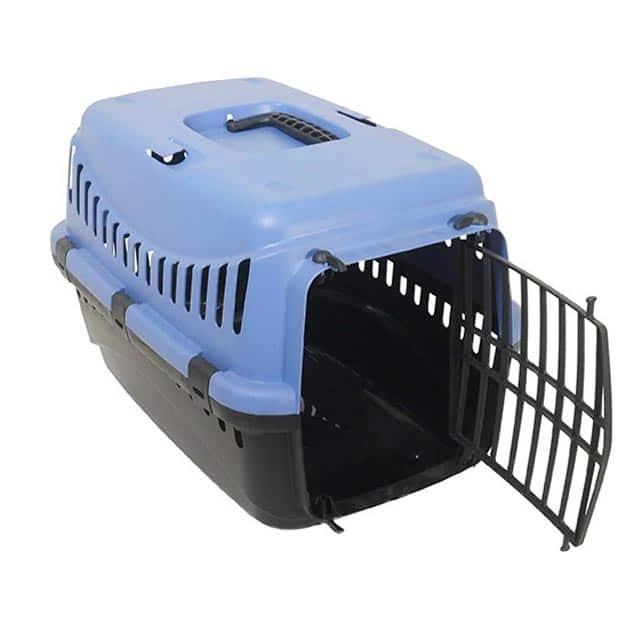 Eco Line Pet Carrier Small Slate Blue-Black_5