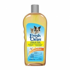 Fresh 'n Clean Flea & Tick Conditioning Dog & Cat Shampoo