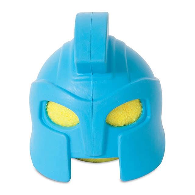 JW Pet Rubber Gladiator Helmet Head_front