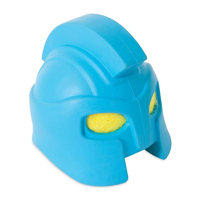 JW Pet Rubber Gladiator Helmet Head_side