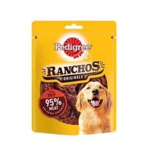 Pedigree Ranchos Dog Treats with Beef
