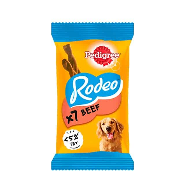Pedigree Rodeo Beef 123g