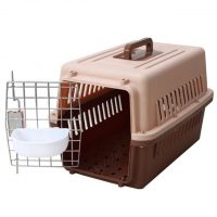 Plastic Airline Pet Carrier_M