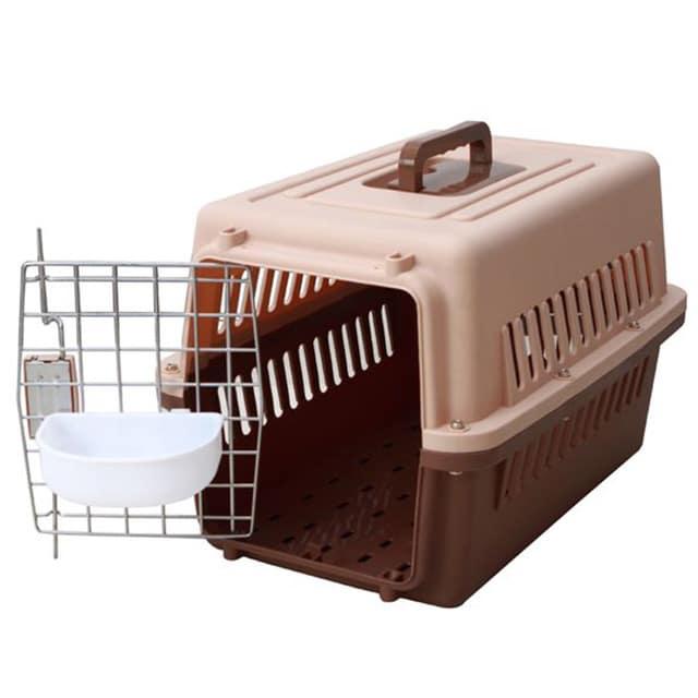 Plastic Airline Pet Carrier_M