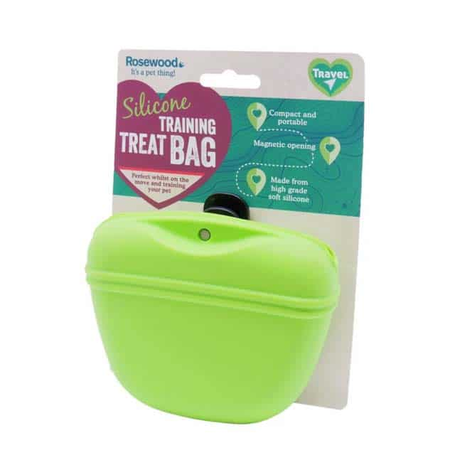 Rosewood Silicone Training Treat Bag