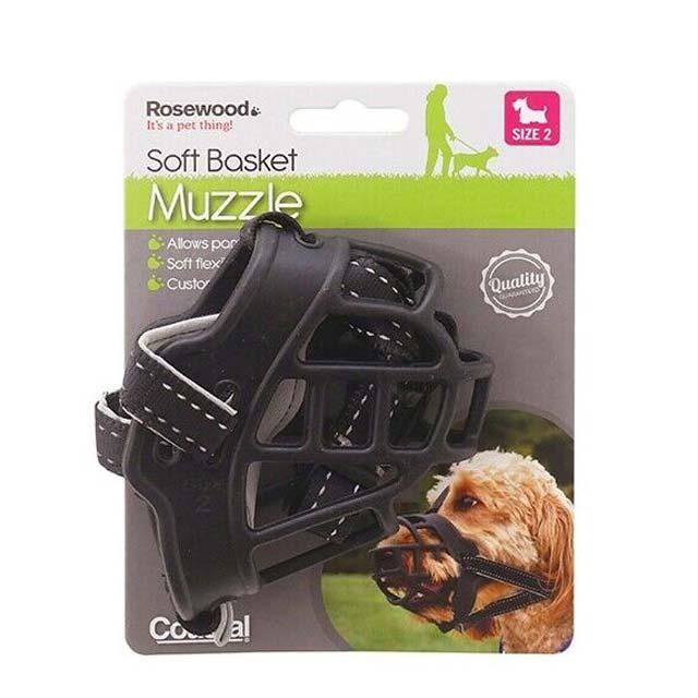 Rosewood Soft Basket Muzzle
