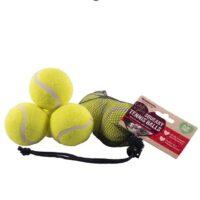 Rosewood Squeaky Tennis Balls 3pc