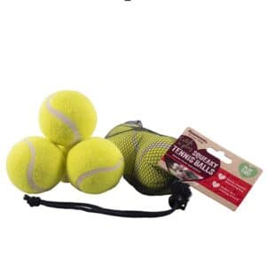 Rosewood Squeaky Tennis Balls 3pc