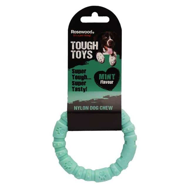Rosewood Tough Toys Nylon Mint Ring