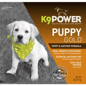 K9 Power Puppy Gold - Nutritional Supplement for Growing Puppies and Mothers