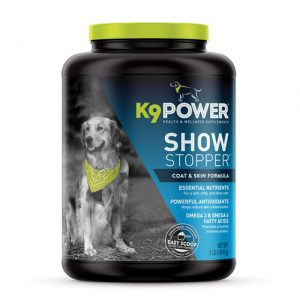 K9 Power Show Stopper - Healthy Dog Coat and Skin Formula to Improve Health and Appearance