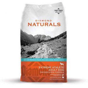 Diamond Naturals Extreme Athlete Adult Dog Chicken & Rice Formula