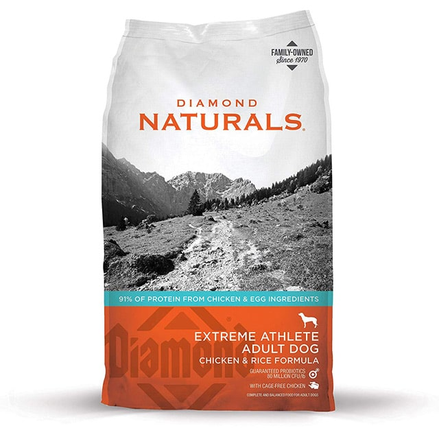 Diamond Naturals Extreme Athlete Adult Dog Chicken & Rice Formula