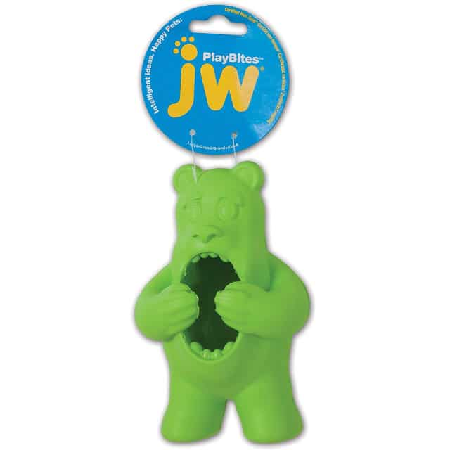 JW Pet Company Bear Toy