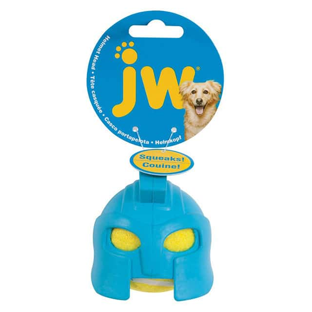 JW Pet Rubber Gladiator Helmet Head