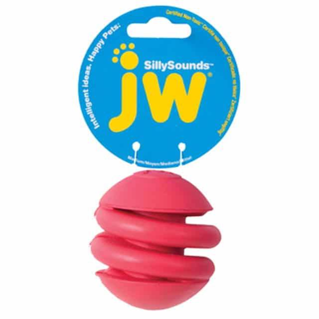 JW Pet SillySounds Spring Ball