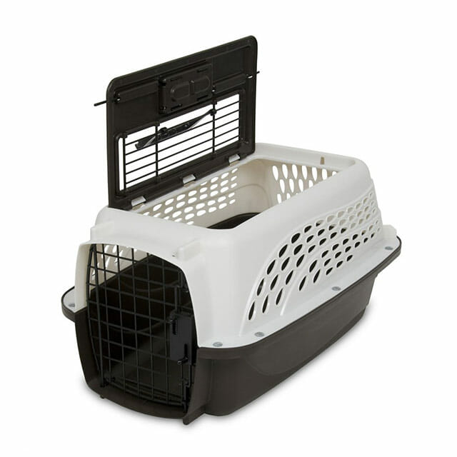 Petmate 2 Door Kennel_open