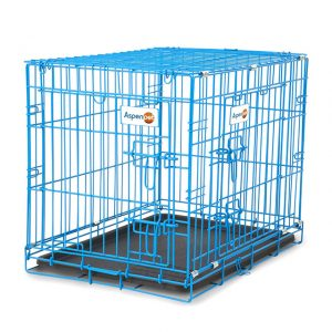 AspenPet 2 Door Puppy Wire Crate