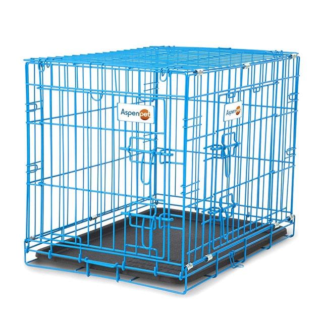 AspenPet 2 Door Puppy Wire Crate