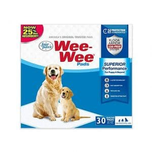 Four Paws Wee-Wee Puppy Pads, Count of 30