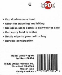 SPOT Handi-Drink Sport Stainless Steel