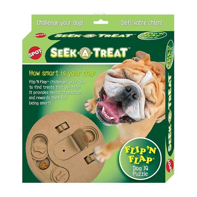 Ethical Pet Seek-A-Treat Flip-N-Flap