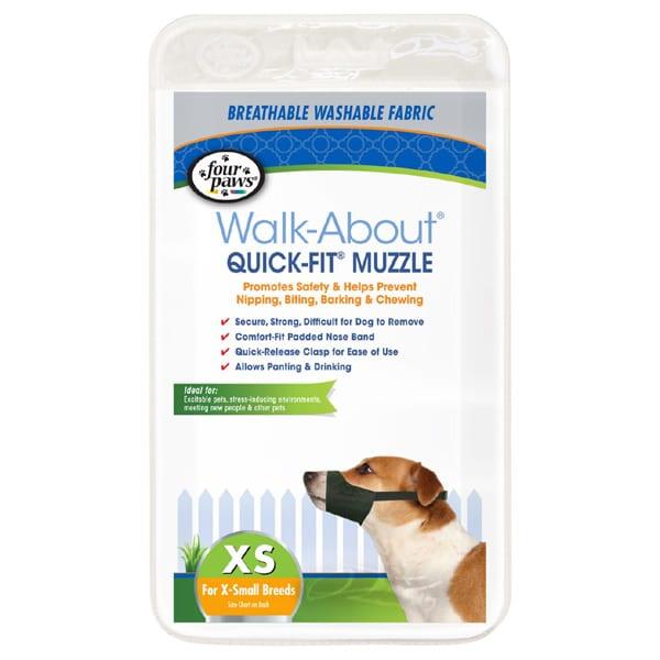 Four Paws Walk-About Quick-Fit Muzzle XL